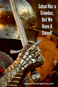 Don't let Satan divide and conquer. Wield the gift you have been given in the Armor of God.