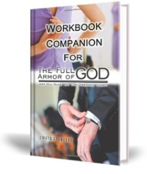The Workbook Companion for The Full Armor of God delves deeper into your understanding of just how important it is to fully dress each morning in the protection and love of Christ. You were not left defenseless on this side of heaven, but many of us leave our homes each day oblivious to the landmines that are waiting. These questions are designed to help you look inside yourself to determine what distractions, fears, and obstacles are in your way forcing you to leave your home each day unprotected.